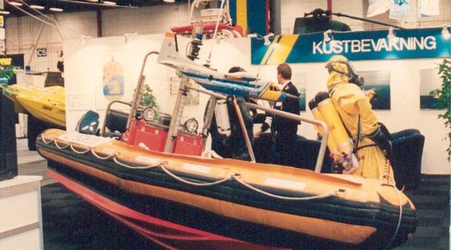 WEEDO Rescue & Interceptor 22-50, Kustbevakningen