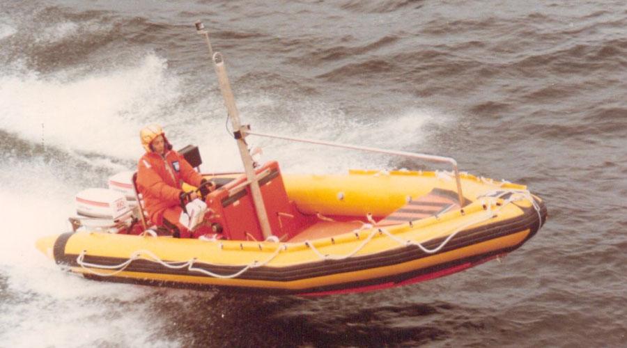 WEEDO Fast Rescue 22 SOLAS