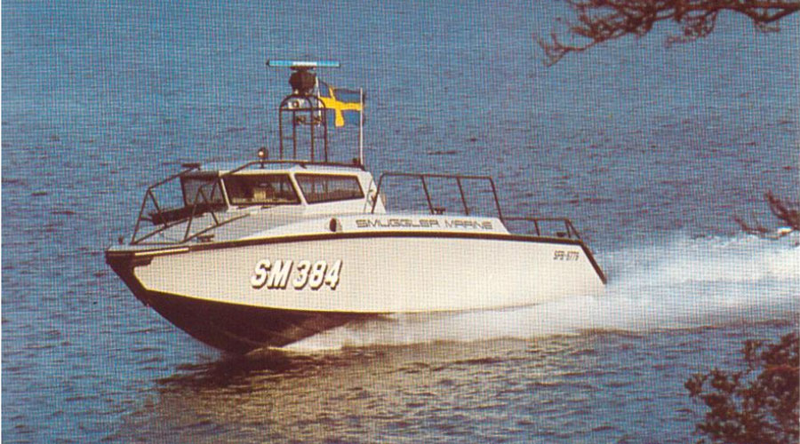 Smuggler 384, prototyp Stridsbåt 90