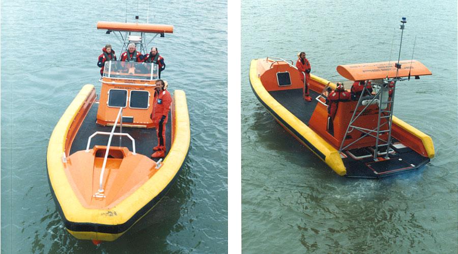 Smuggler 11 m Rescue Off Shore, Southampton