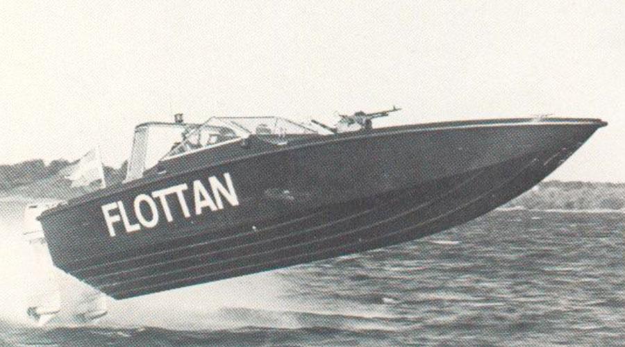 Smuggler 28 Patrol, Örlogsbas Ost, Muskö